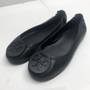 Tory Burch flats  shoes 🥿  size 5M black leather